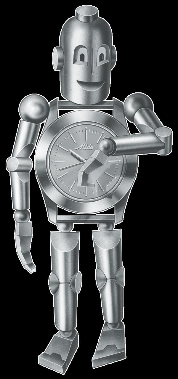 Mido 'Robi' the robot