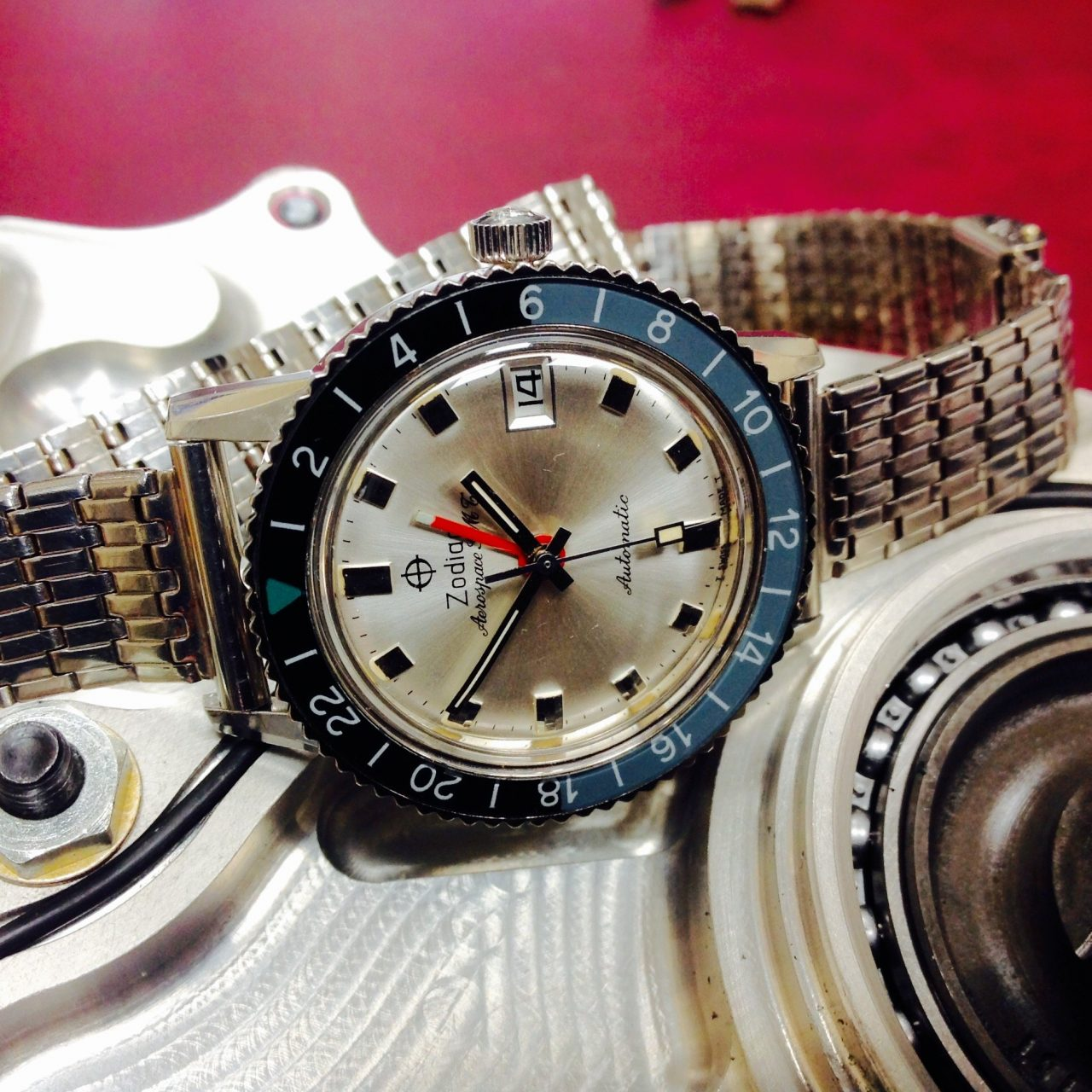 Zodiac Sea Wolf Vintage watch