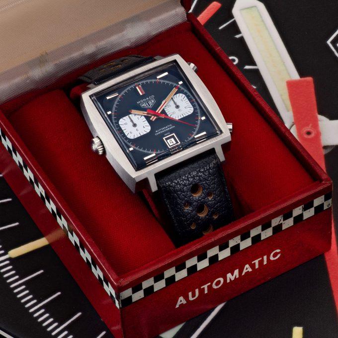 1969 Heuer Monaco 1133B Watch