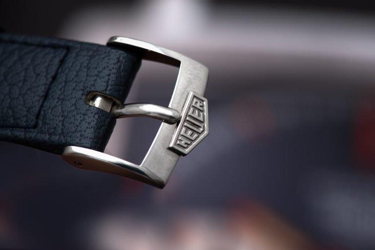 1969 Heuer Monaco 1133B Watch buckle