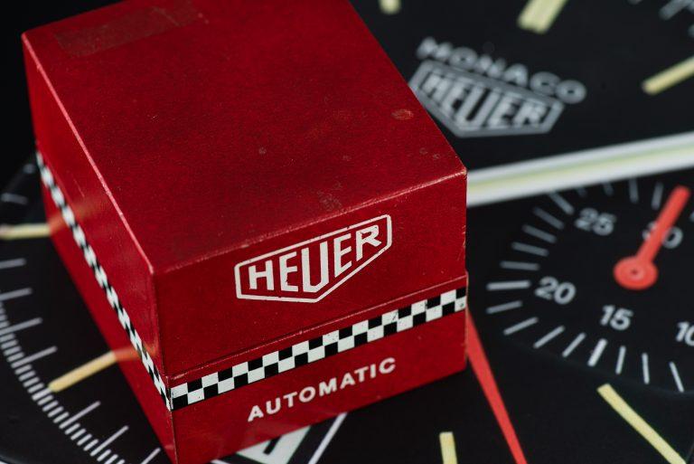 1969 Heuer Monaco 1133B Watch box