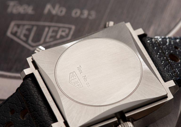 1969 Heuer Monaco 1133B Watch case back