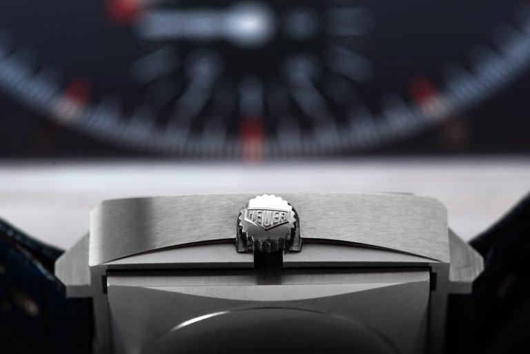 1969 Heuer Monaco 1133B Watch profile