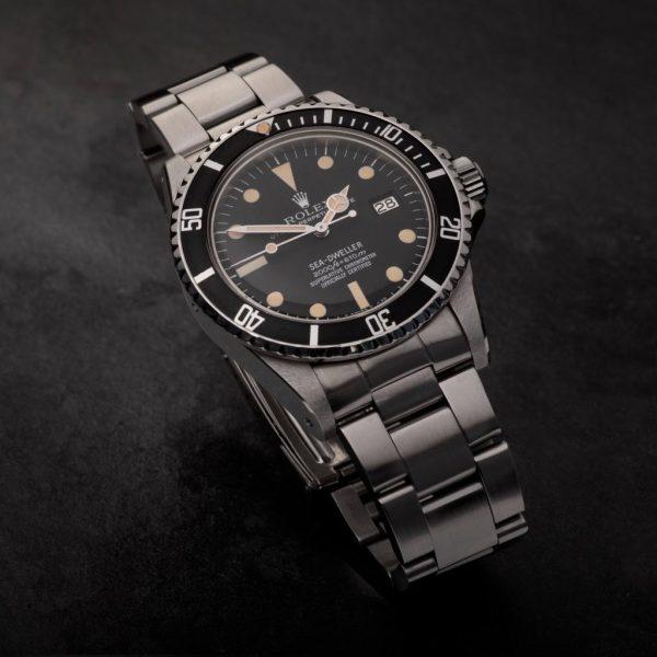 1979 Rolex Sea Dweller 1665 Rail Dial Watch