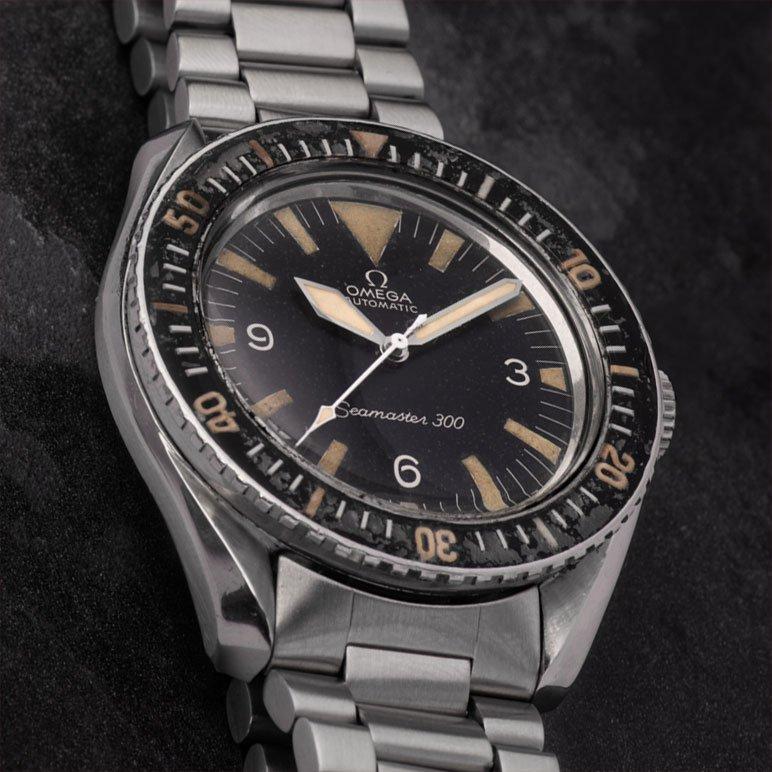 Vintage watch Omega Seamaster 300